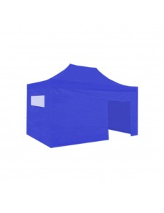Kit carpa plegable 3x2 m azúl. ENVÍO GRATIS
